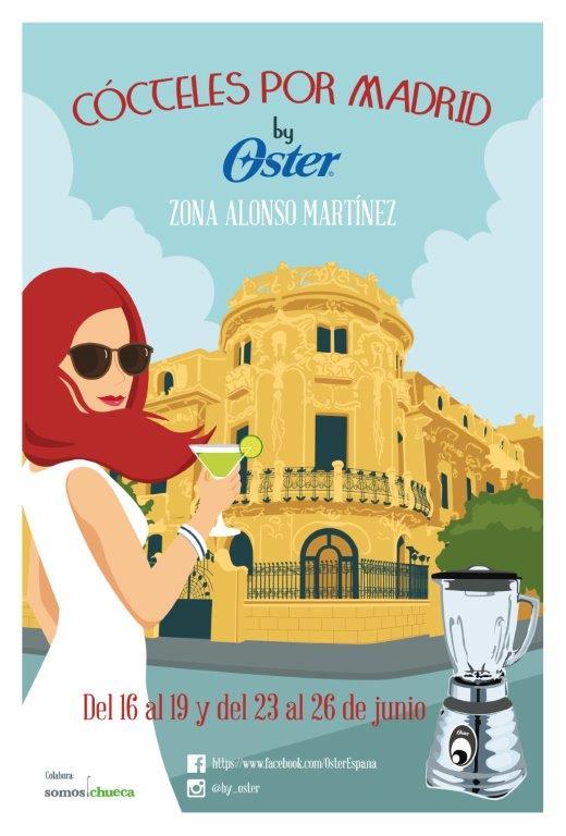 Ruta Cócteles por Madrid by Oster