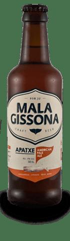 Cerveza Apatxe de Mala Gissona