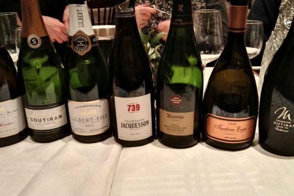 Fotos cata ciega cava y champagnes
