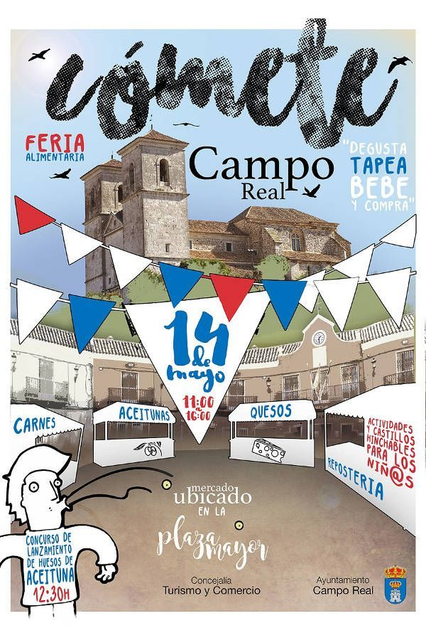 Mercado Cómete Campo Real