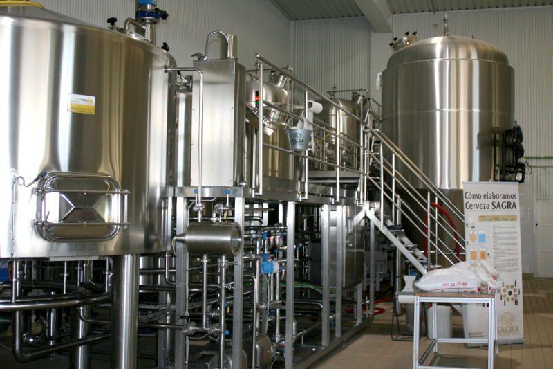 Cervezas La Sagra Fabrica