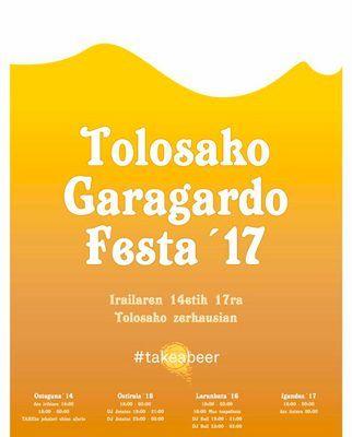 XIX Feria de la cerveza de Tolosa