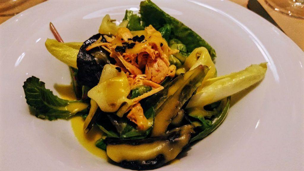 Ars Vivendi Bouquet de hojas tiernas con virutas de foie