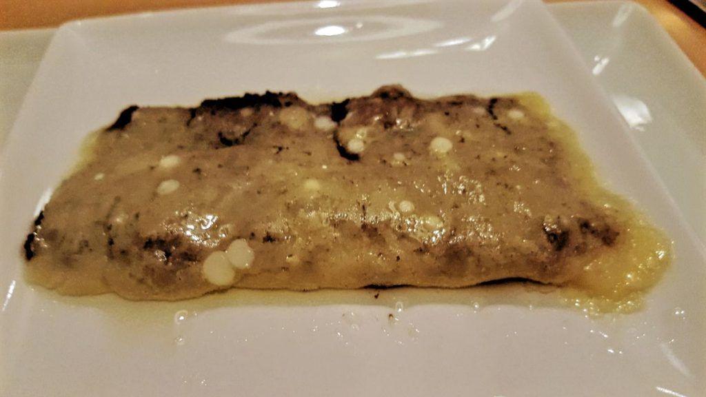 Ars Vivendi Ravioli de parmesano relleno de picada de trufa