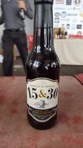 Cerveza 15&30 de Sherry Beer