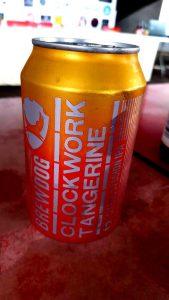 Cerveza Clockwork Tangerine de Brewdog