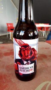 Cerveza American Psyco pie. Hoppy Fruit Sour de Tres Monos