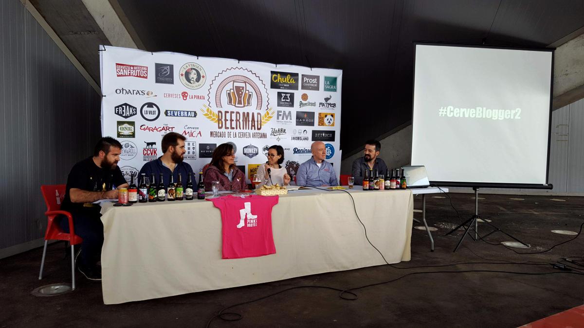 II Encuentro de Bloggers Cerveceros, CerveBlogger, en Beermad