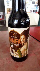 Cerveza Ninfa de Domus