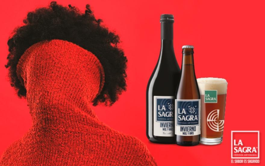 La Sagra cerveza de invierno miel y anís