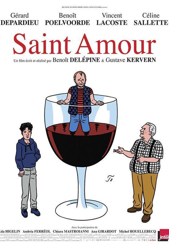Saint Amour, cartel de la película