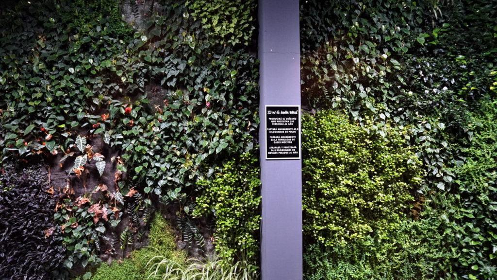 jardin vertical Bálamo Restaurante