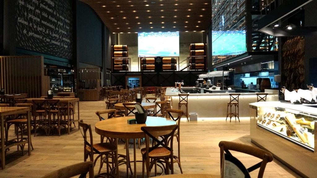 Sala principal Bálamo Restaurante