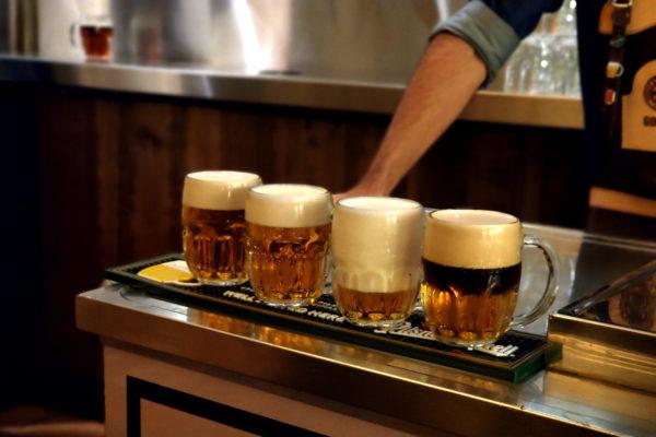 Los 4 tirajes de Pilsner Urquell