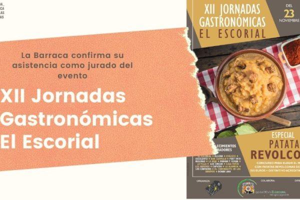 XII Jornadas Gastronómicas de El Escorial