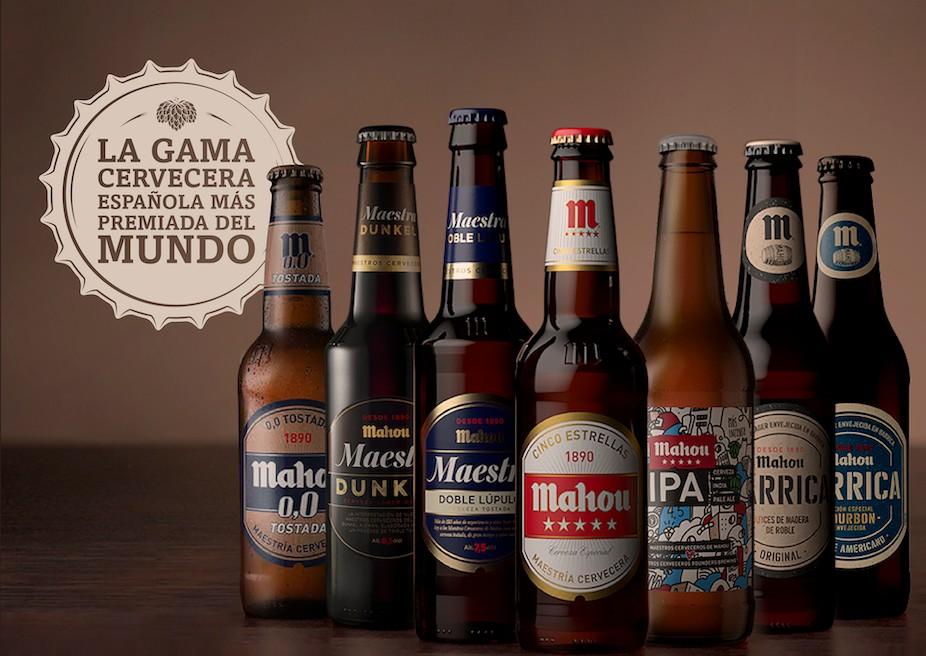 Mahou marca cervecera más premiada del mundo