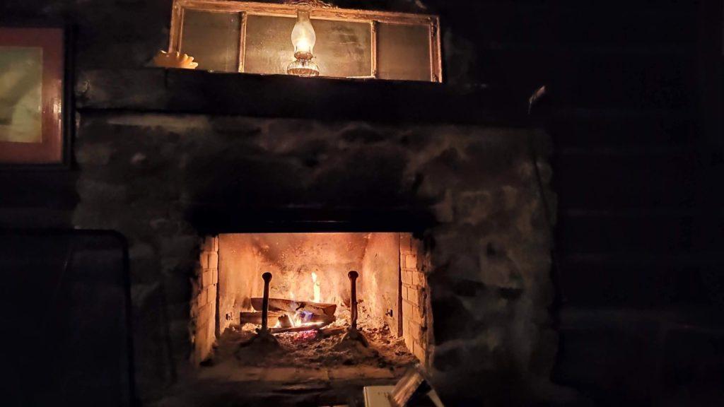 Sucrerie de la montagne cabaña interior