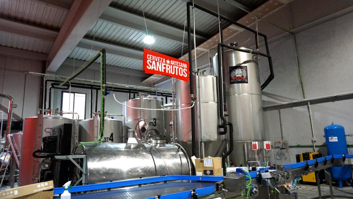 Fábrica cerveza San Frutos