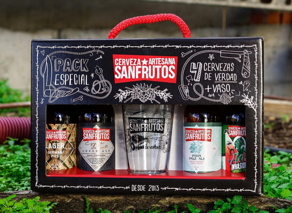 Pack cervezas San Frutos